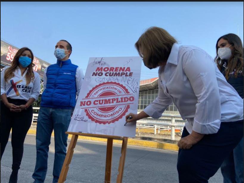 """Candidatos de """"Va por México"""" reprocharon el incumplimiento de promesas de Morena en la CAPU"""