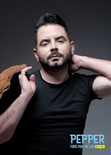"""José Eduardo Derbez protagonizará la versión mexicana de """"Soy Pepper"""" todo por un like."""
