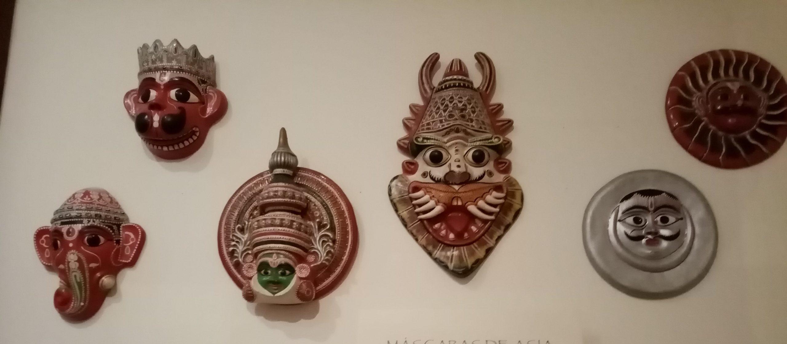 Máscaras de Asia
