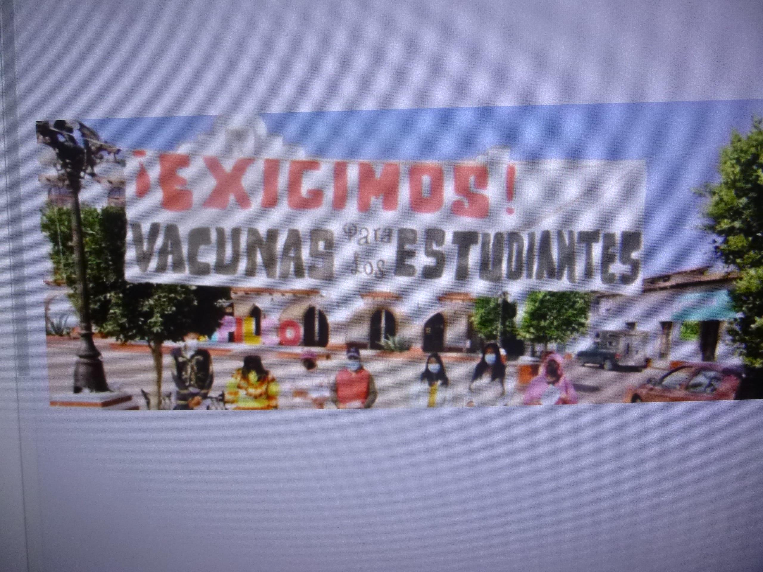 Antes del regreso a clases presenciales todos los alumnos deben ser vacunados, pide Antorcha Campesina