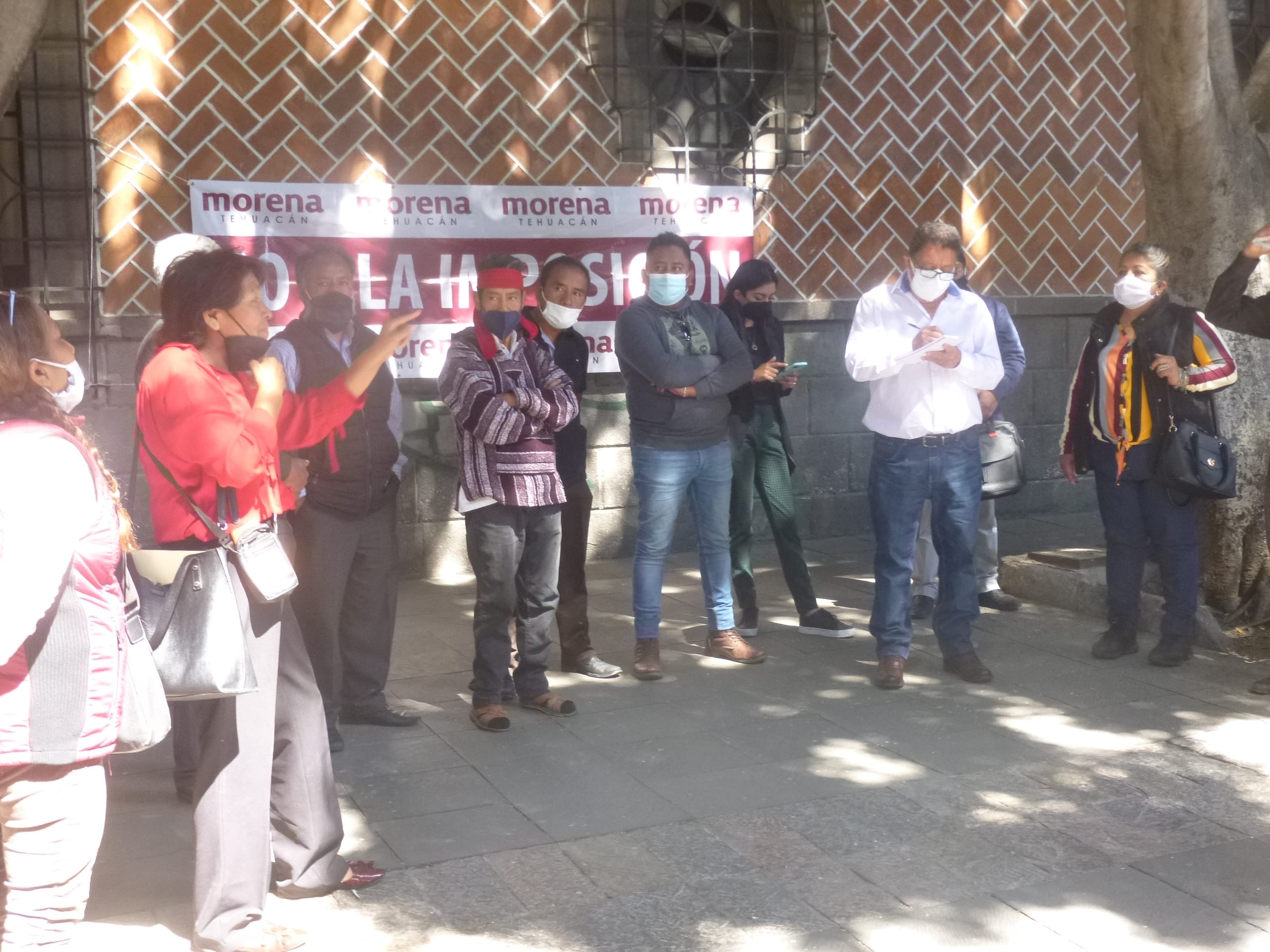 Morenistas denuncian imposición de candidatos