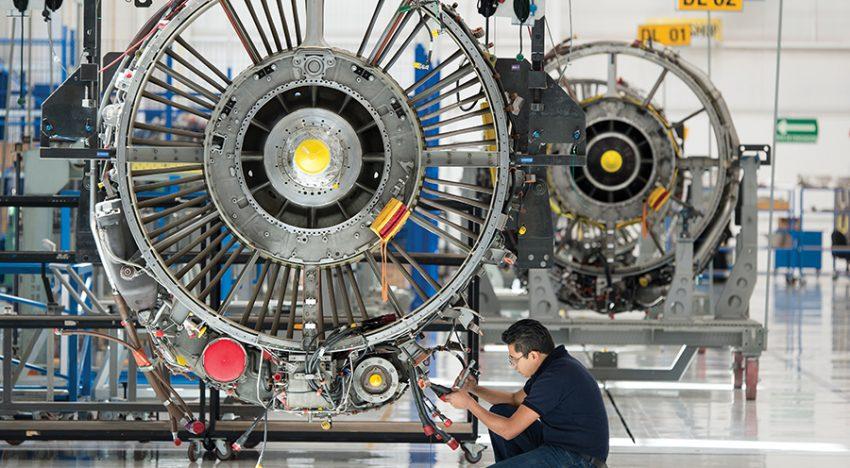 Pandemia tumbó 30% de la industria aeroespacial de México