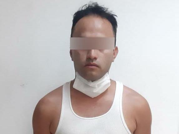 En el Centro Histórico es detenido presunto narcovendedor