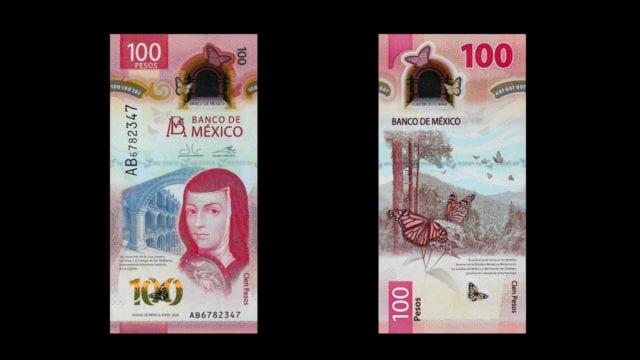 Nuevo billete de 100 pesos es reconocido como el mejor de 2020