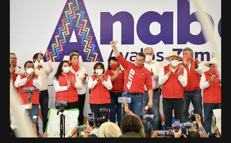 Anabel Ávalos, mujer de compromiso, será la próxima gobernadora de Tlaxcala: Alejandro Moreno