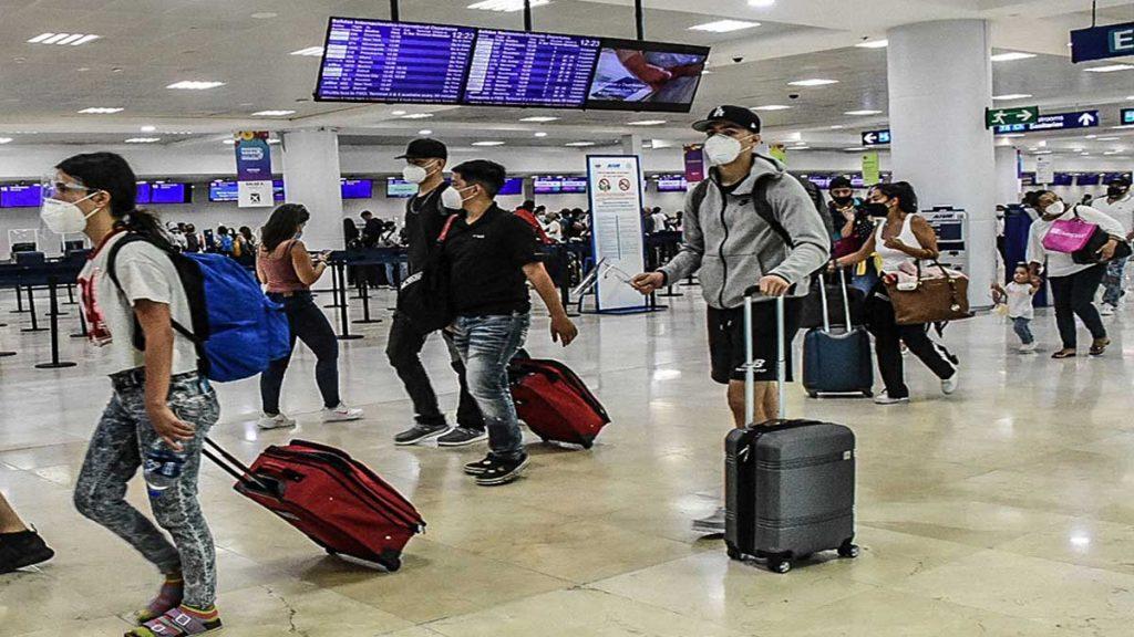 Durante junio de 2021 ingresaron al país 4,886,357 visitantes, de los cuales 3,121,312 fueron turistas internacionales
