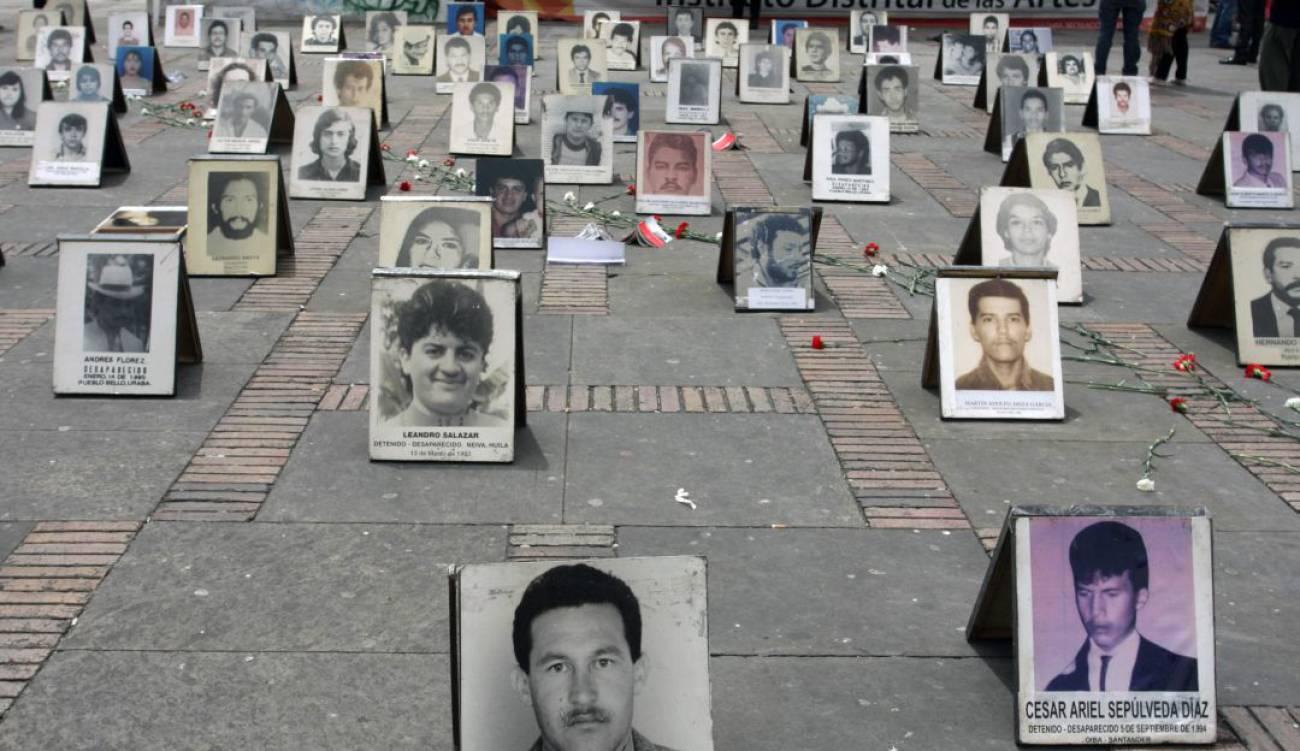 Colombia apenas ha avanzado en la búsqueda de cerca de 100.000 desaparecidos