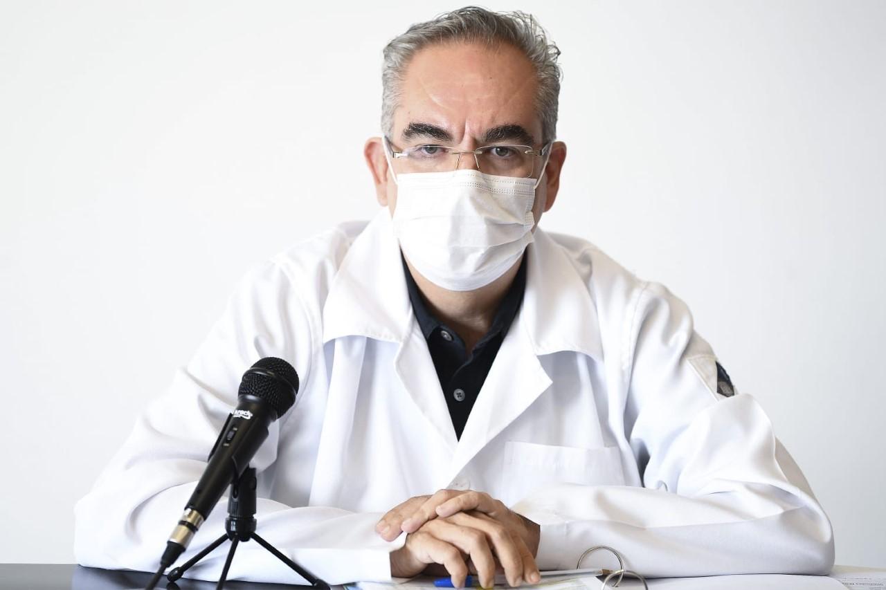 Video desde Puebla: Reporta la Secretaría de Salud un repunte del Covid en la entidad con 104 contagios y 17 fallecidos más
