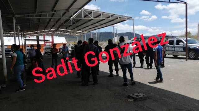 Detienen a presunto ladrón en el mercado de Amozoc