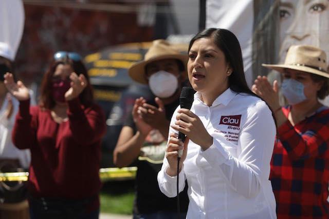 Claudia Rivera mejorará imagen urbana  de unidades habitacionales