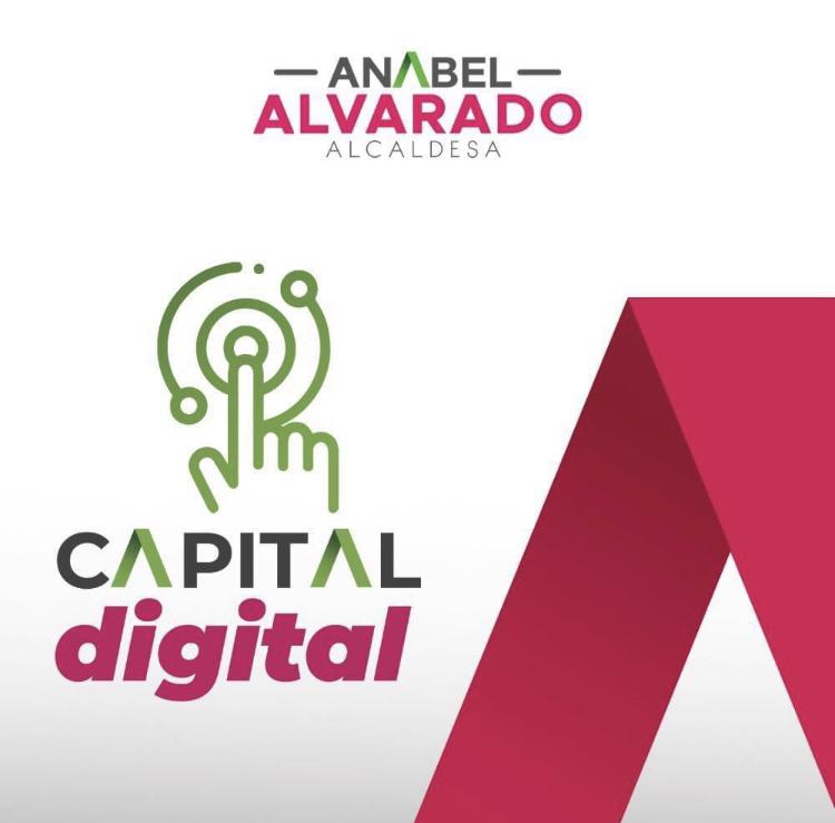 """Anabel Alvarado, candidata del Partido Revolucionario Institucional (PRI), presentó su primera propuesta que lleva por nombre """"Capital Digital"""","""