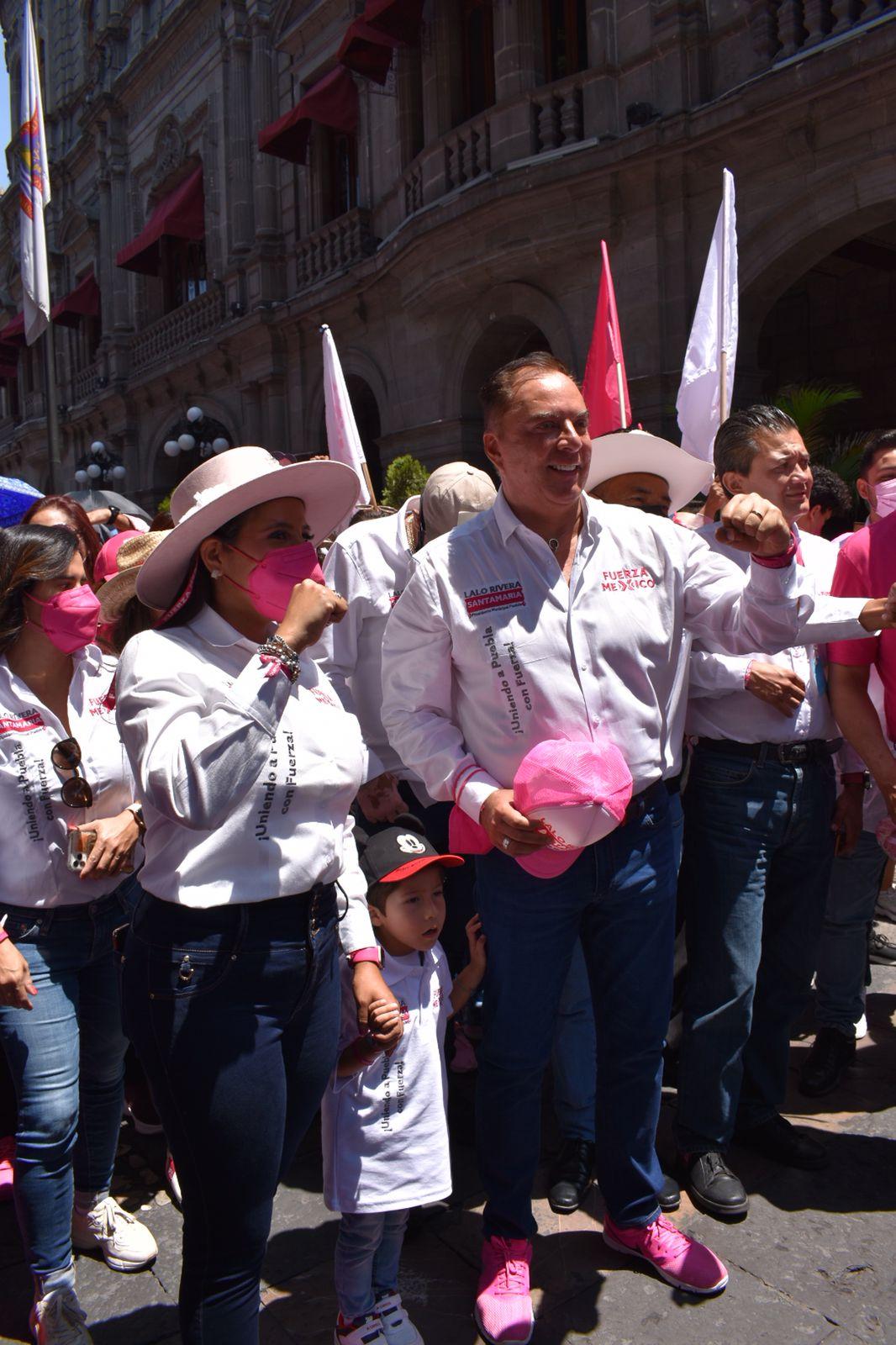 Asegura Eduardo Rivera Santamaría que no declinará por nadie