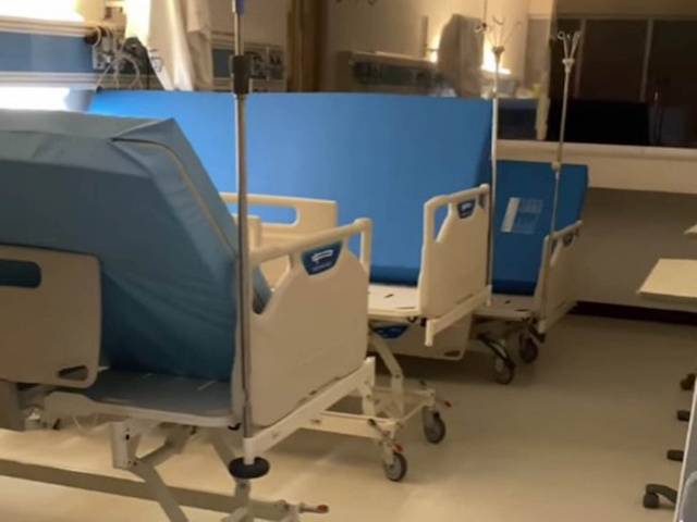 'Era zona de tristeza': Enfermero muestra área covid sin pacientes y genera polémica