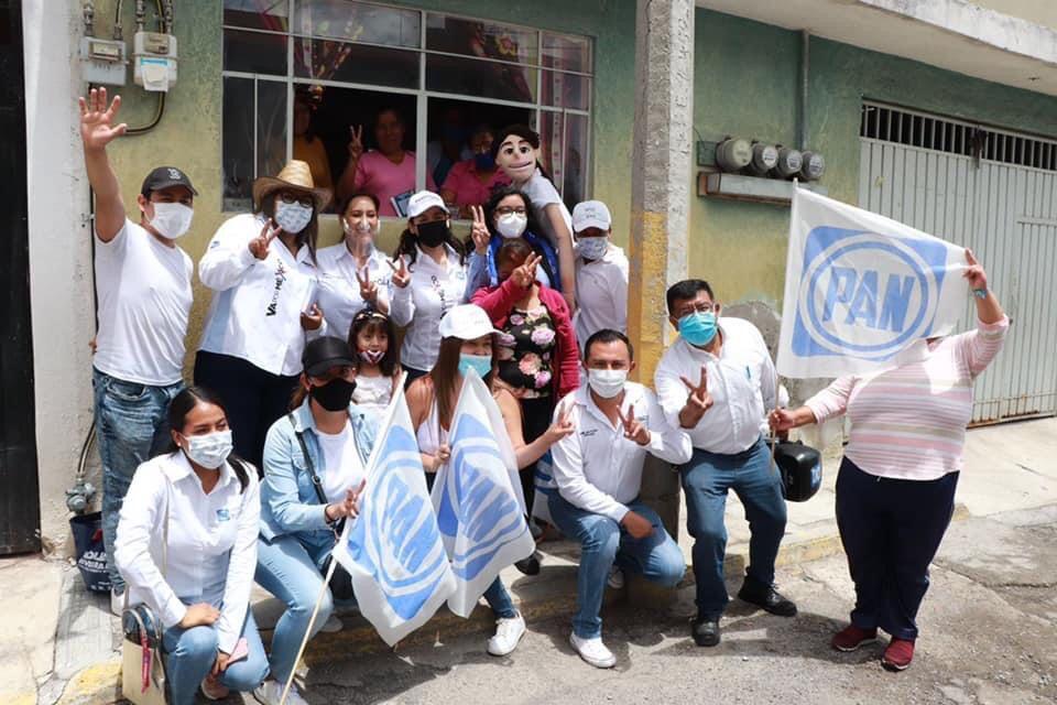 Con los candidatos del PAN Puebla recuperará el desarrollo: GHV