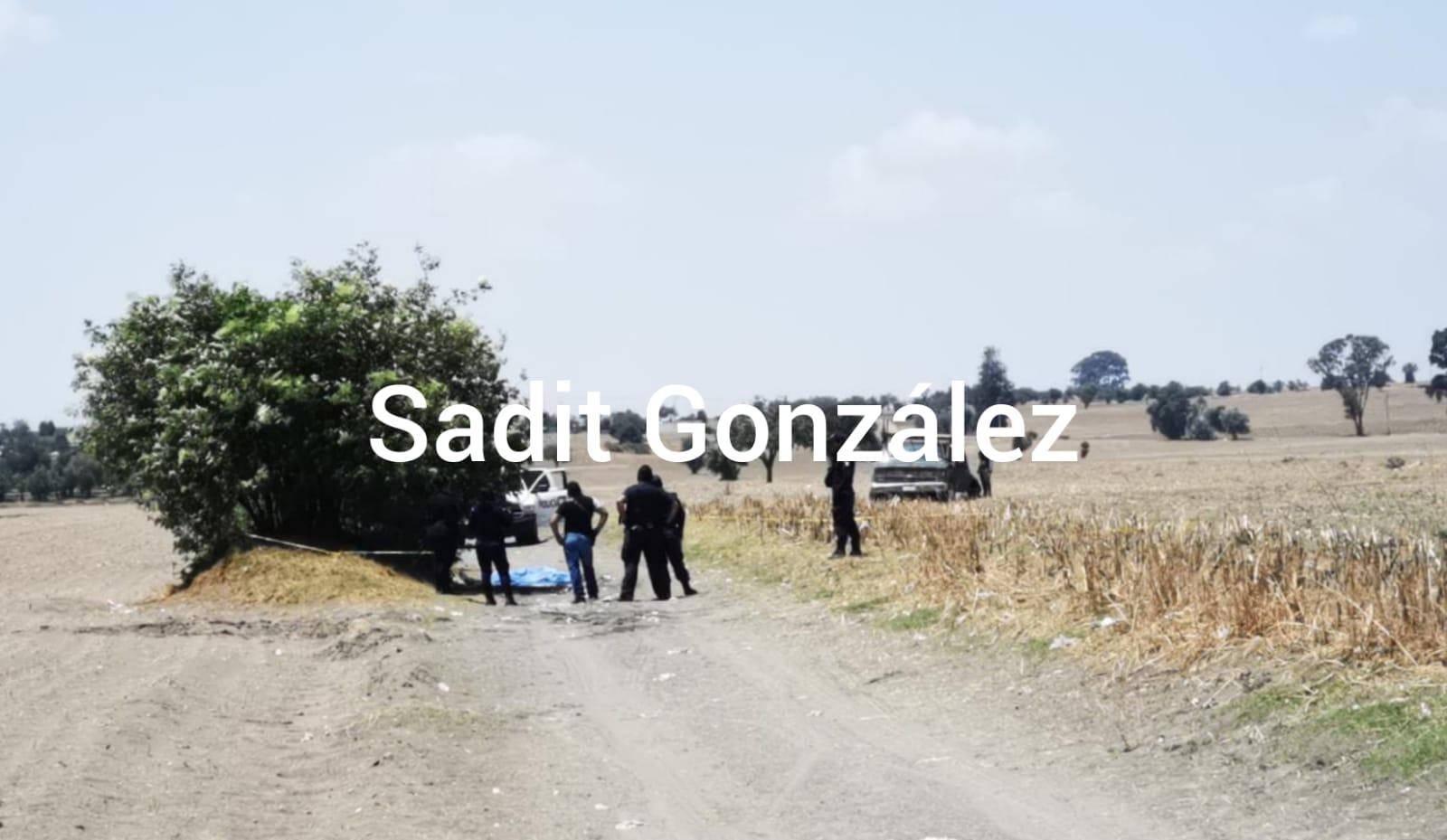Tiran cadáver maniatado y con el tiro de gracia en Tlaltenango.
