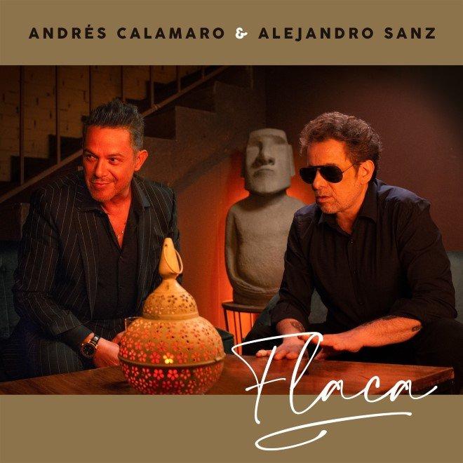 """Andrés Calamaro y Alejandro Sanz fusionan su talento en el sencillo """"Flaca"""""""