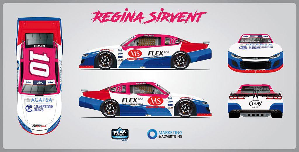 Regina Sirvent debutará en NASCAR Challenge