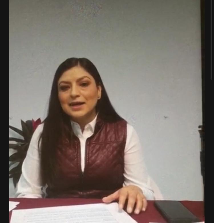 Claudia Rivera señala a Biestro de estar atrás de protestas durante su campaña electoral