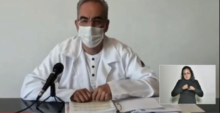 Video desde Puebla: Reporta la Secretaría de Salud la muerte de 16 poblanos por covid-19.