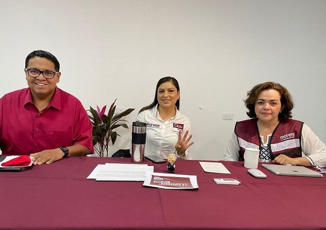 """Clau Rivera fortalecerá red """"Vecinos en construcción de la Paz"""" para fortalecer la seguridad"""