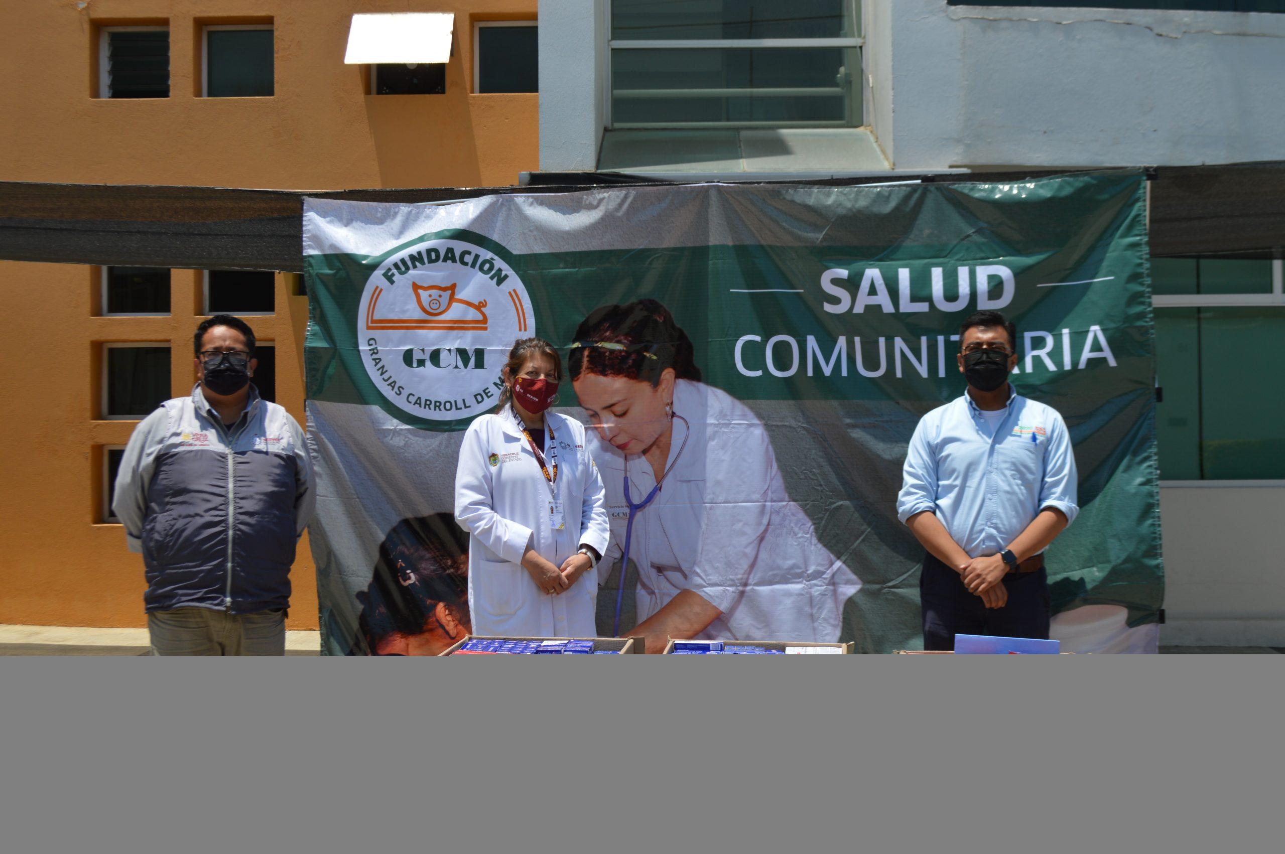 Fundación Granjas Carroll de México en alianza con Fundación Grupo México apoyan la salud