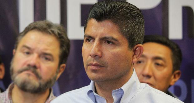 Video desde Puebla: Eduardo Rivera tuvo un acercamiento con los trabajadores del ayuntamiento
