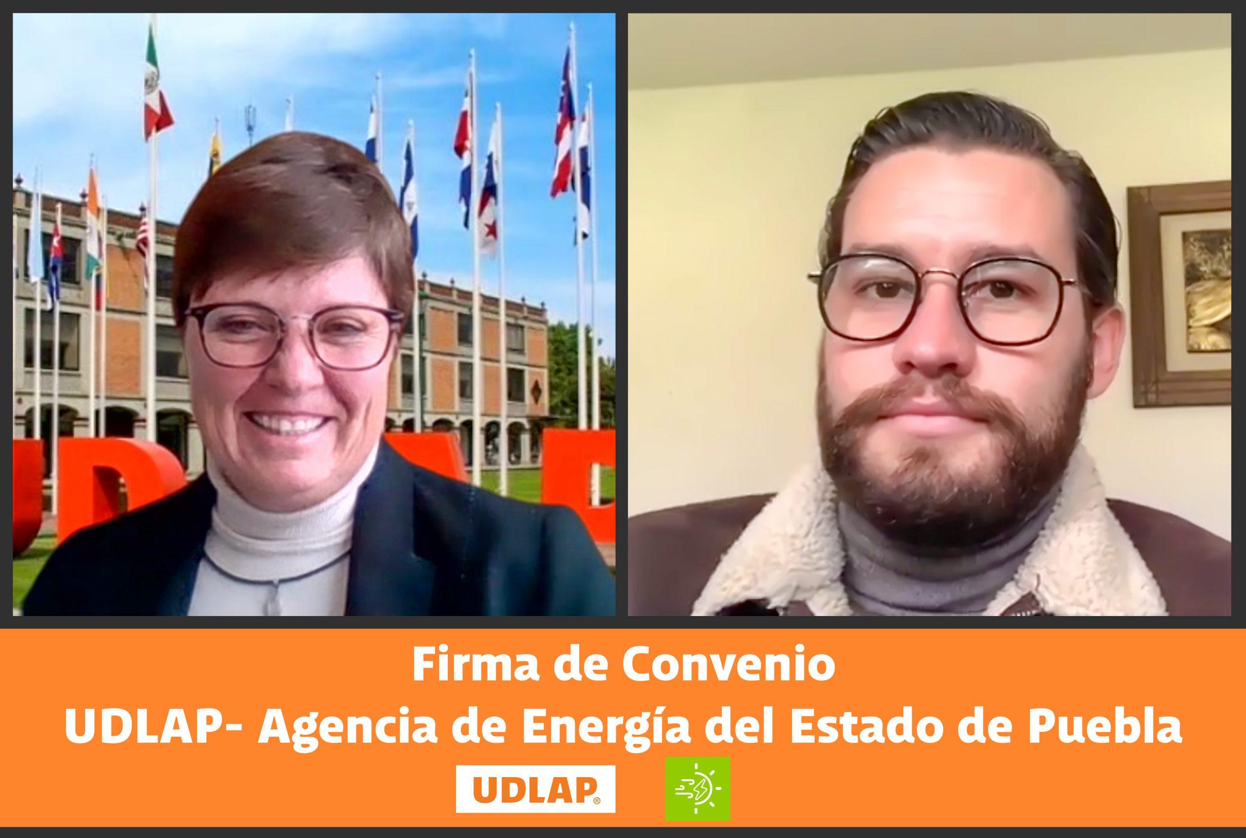 UDLAP y AEEP firman convenio en materia de prácticas en la profesión