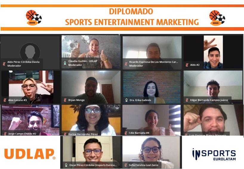 La UDLAP ofertó diplomado sobre marketing deportivo y entretenimiento