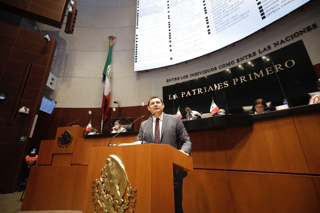 Es prioritario para los migrantes que avance la Ley de Capacitación de Divisas: Alejandro Armenta