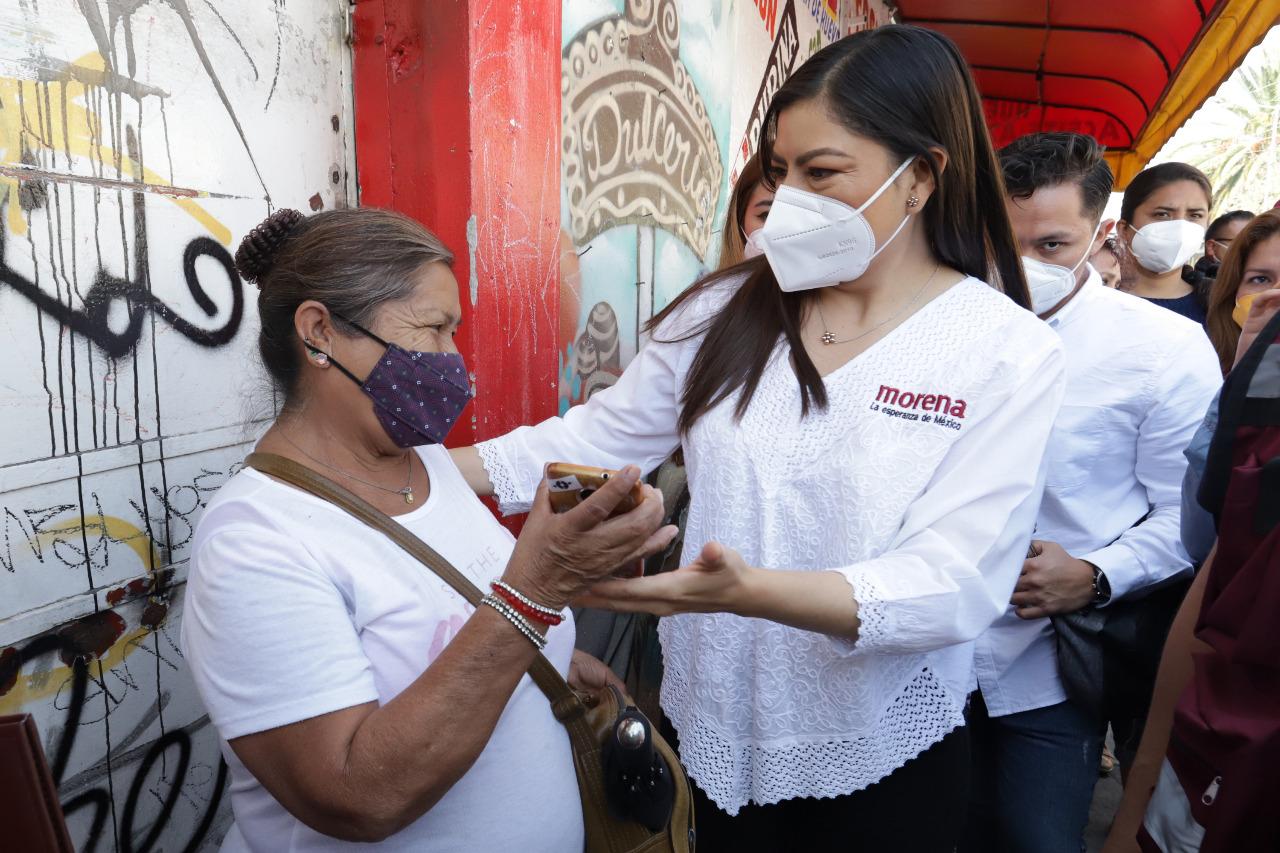 Plantea Claudia Rivera 5 ejes y más de 50 acciones para consolidar la Ciudad de la Transformación