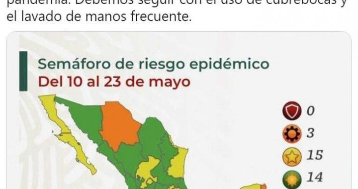 Tlaxcala ya está en verde en el semáforo Covid19