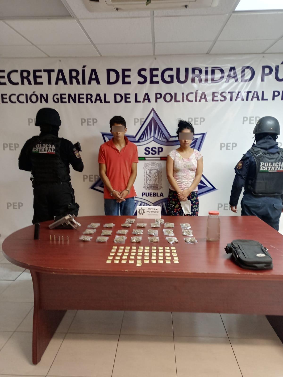 Policía Estatal detiene a presuntos narcomenudistas