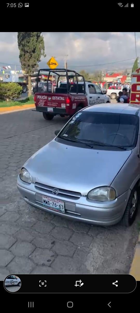 Fotonota: Fuerte operativo de policías estatal y municipal en Ahuazotepec