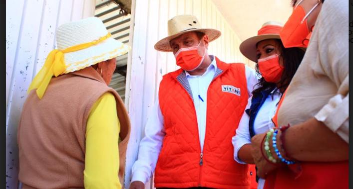 Edgar Yamil Yitani acepta la invitación a debate con Claudia Rivera Vivanco