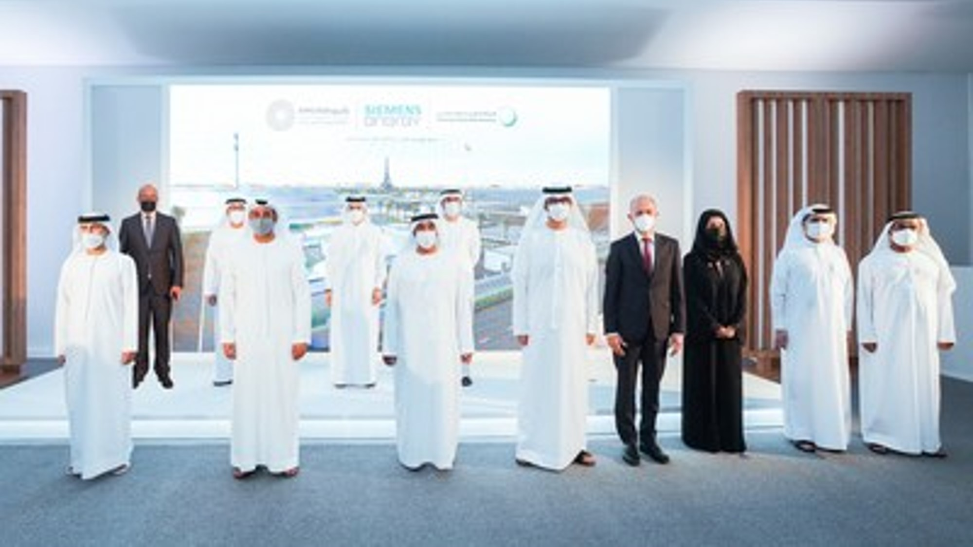 Dubái inaugura el proyecto Green Hydrogen, el primero de este tipo en MENA
