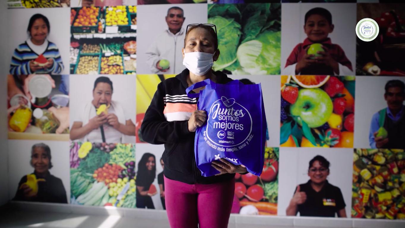 """Logra """"Juntos Somos Mejores"""" reunir más de un millón de productos  en favor de las familias mexicanas"""