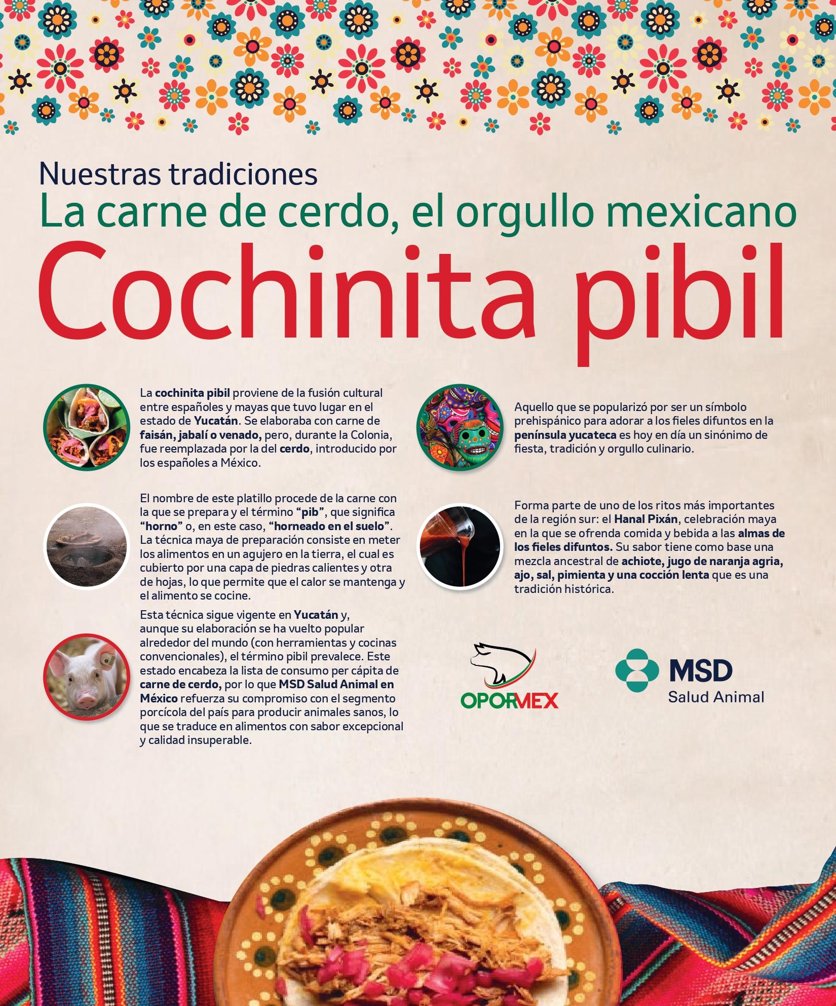 Celebra el día de la cochinita y disfruta de un platillo mexicano de fama internacional