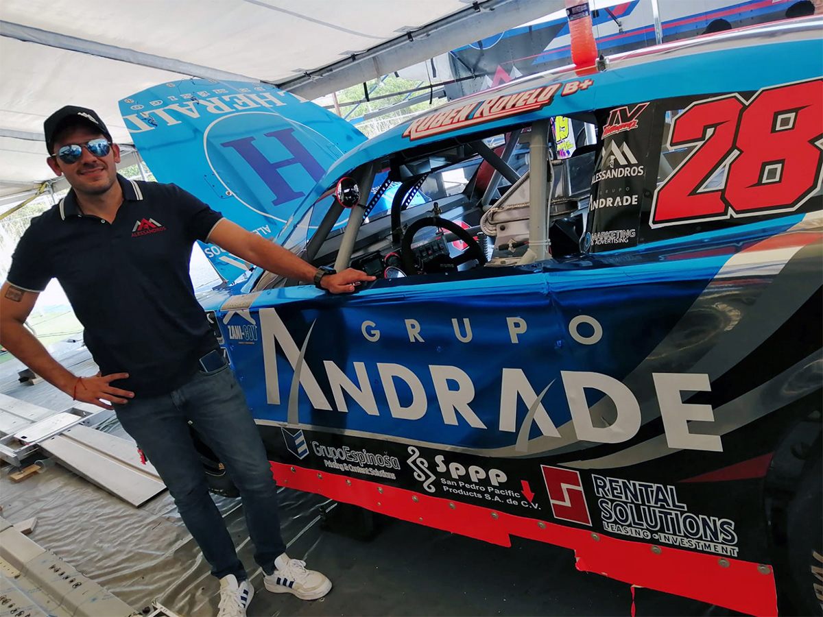 Abandona Rovelo primera fecha de NASCAR México en Chiapas