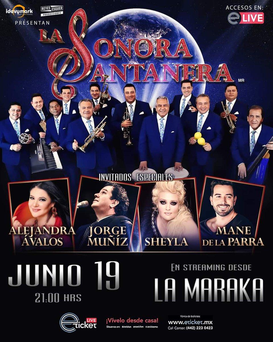 La Sonora Santanera regresa a los escenarios de manera presencial ¡y de qué forma!