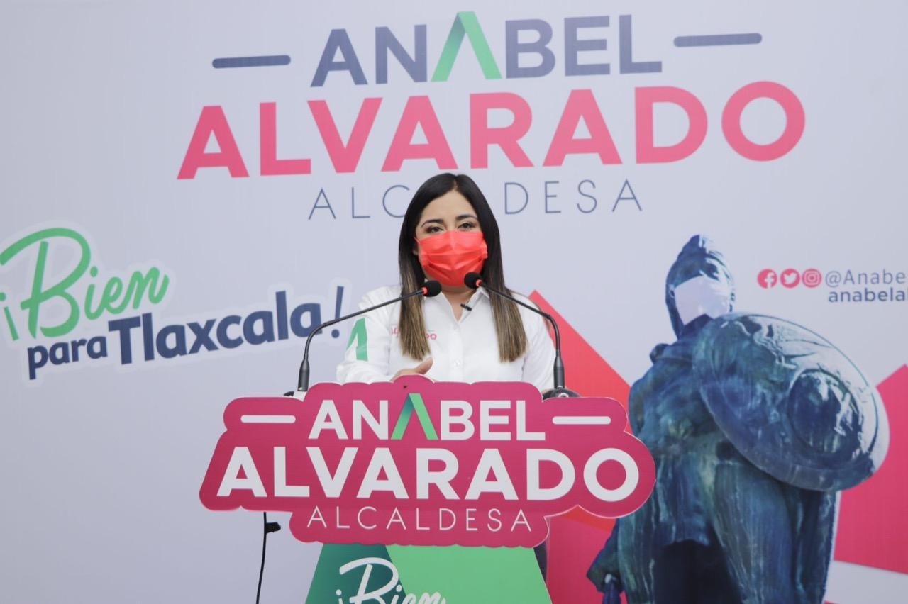 Anabel Alvarado presenta su propuesta en materia de deporte