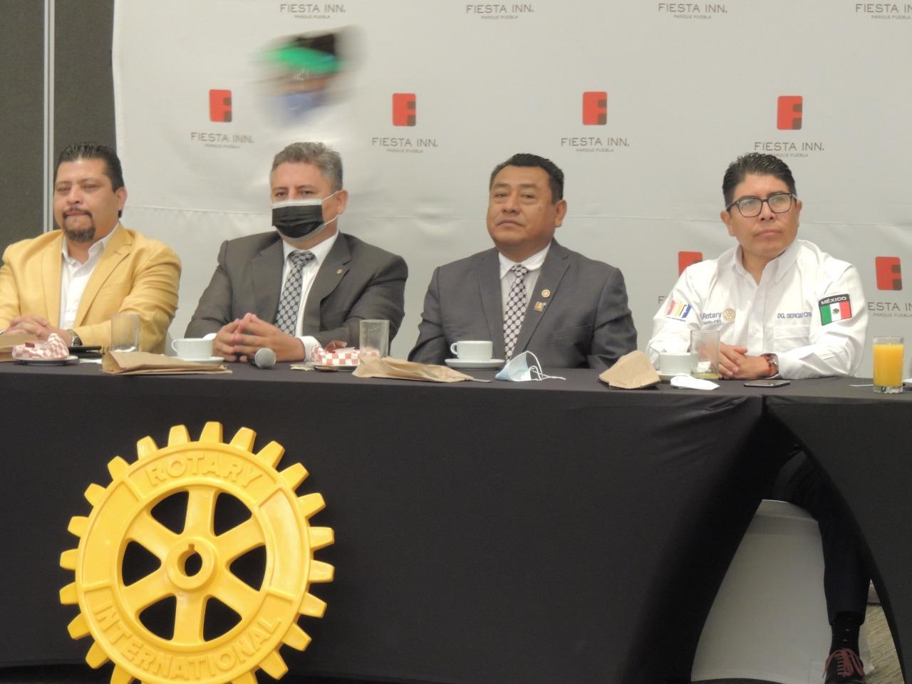 Se efectuó la Caravana Rotaria a favor de los necesitados de cinco estados de la república