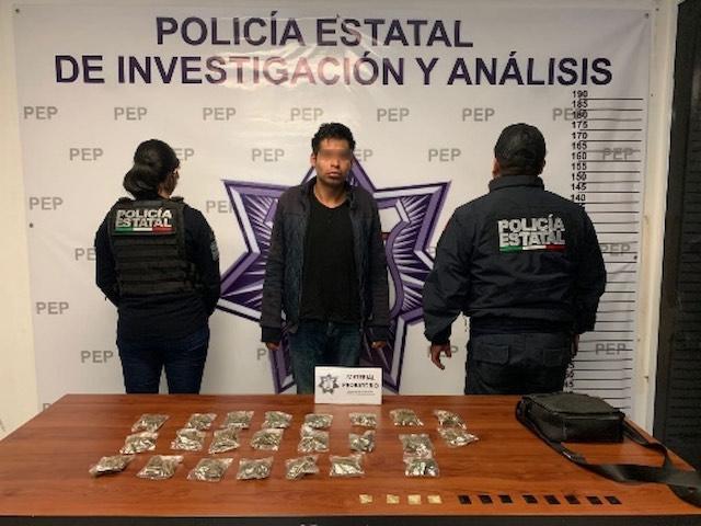 Captura Policía Estatal a presunto narcovendedor