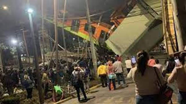 Accidente en el metro de Ciudad de México deja al menos una veintena de muertos