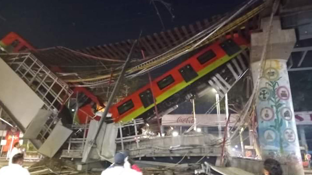 Urge revisar infraestructura vial y de transporte tras colapso en la Línea 12