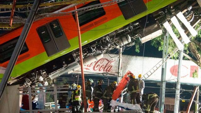 Biden ofrece ayuda a México por accidente de L12 del Metro