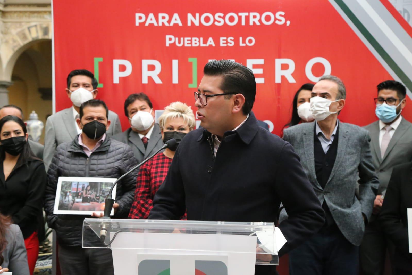 PRI de Puebla reprueba acciones de supuestos militantes en el CEN