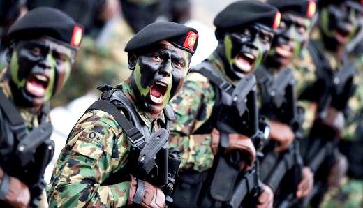 La Guardia Nacional sea un brazo armado militar