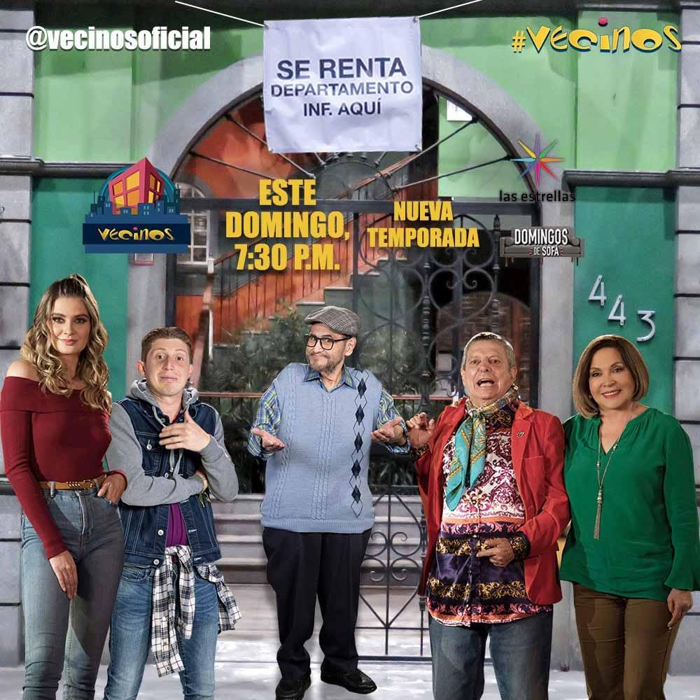"""""""Vecinos"""" estrena su onceava temporada este domingo 13 de junio a las 19:30 horas por """"las estrellas"""""""