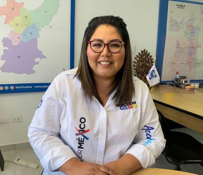 Busca Genoveva Huerta que Verónica Sobrado llegue al Congreso del estado por la vía plurinominal