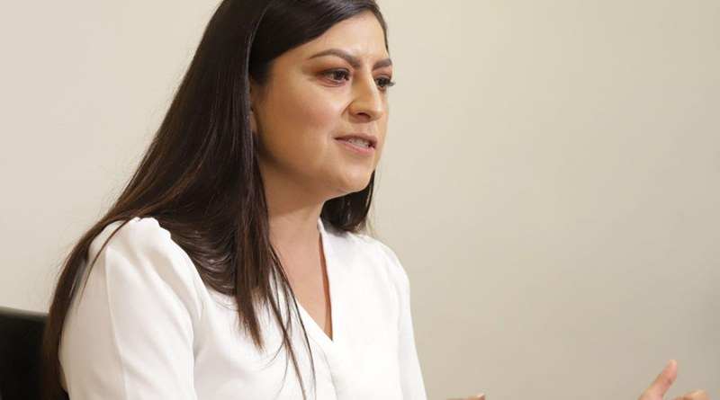 Confirma Claudia Rivera que buscará la dirigencia estatal de Morena